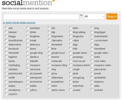 Social Mention - Social Media Search Engine | EduTech Roundup | Scoop.it