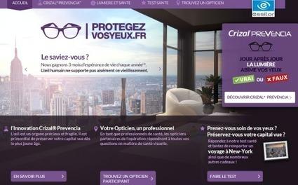 Essilor mise sur l'opticien comme relais de la santé visuelle de proximité et sensibilise des millions de Français à la lumière bleue | Optique lunetterie | Scoop.it