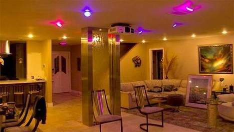 Smarter Home Automation on Smart Colored Lighting | Lighting Controls | Scoop.it
