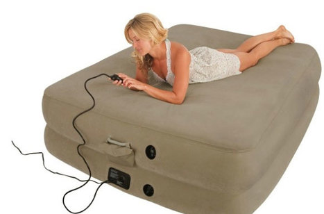 Experience the Target air mattress with built in pump to get a good night's sleep | lmakeyt | Scoop.it