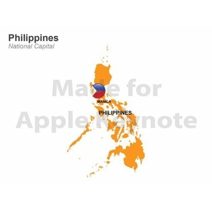 Map of Philippines for Sale | Apple Keynote Slides For Sale | Scoop.it