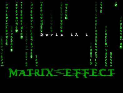 Matrix Effect Using HTML5 and Javascript | HTML5 CSS3 | Scoop.it