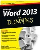 Word 2013 For Dummies - Free eBook Share | Web Hosting new way | Scoop.it