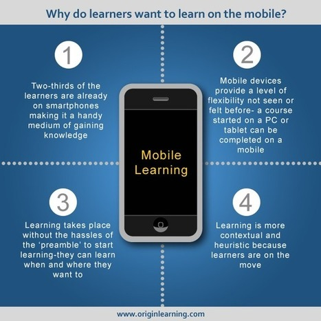 Why do learners want to learn on the mobile? - e-Learning Feeds | BeBetter | Scoop.it