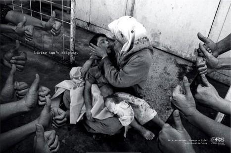 """Los """"me gusta"""" no ayudan, genial campaña publicitaria para Crisis Relief   Ilustrada comunicacion   Scoop.it"""