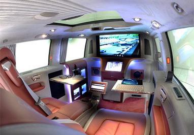 Modern Office on Wheels | Mercedes Benz | Scoop.it