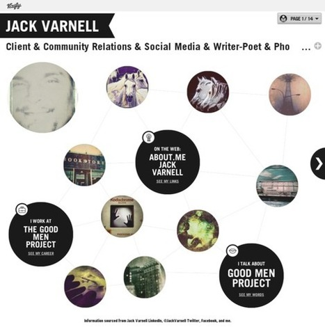 Jack Varnell's Vizify Bio | Overview | 21st_Century Good: Social and Content | Scoop.it