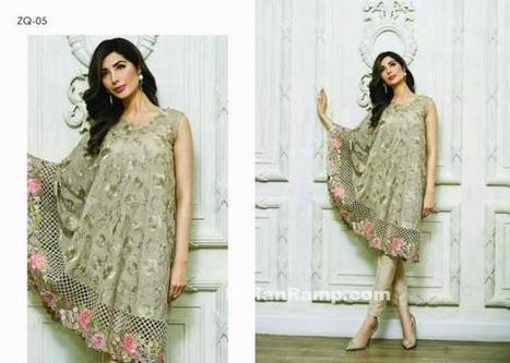 Zarqash Pakistani Chiffon Luxury Suits 2016-17, Indian Fashion   Indian Fashion Updates   Scoop.it