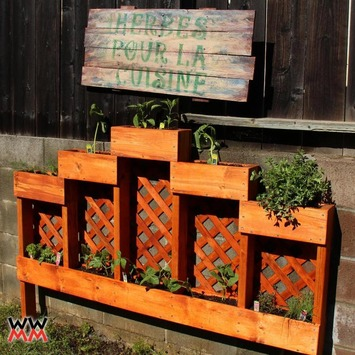 Woodworking videos and projects. Woodworking for Mere Mortals: Make an herb garden planter | Container Gardening | Scoop.it