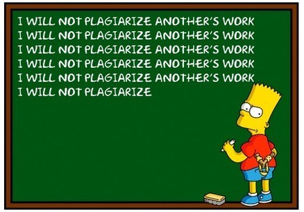 Plagiarism Risks the Future of e-Learning | Citing Sources- Graphic Novel | Scoop.it