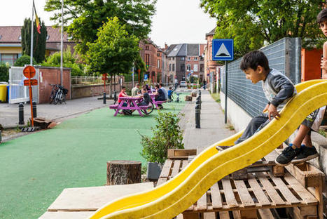 Belgian Streets Got Rid Of Cars And Turned Into Beautiful Parks This Summer | What's new in Design + Architecture? | Scoop.it