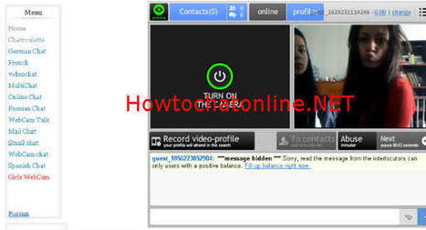 MnogoChat Chatroulette - Chat Girls Only | How to Chat Online | hamada | Scoop.it