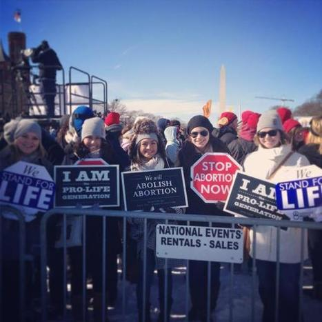 Hundreds of Thousands of Pro-Lifers March for Life: Mourn 57 Million Abortions | Life Vigil | Scoop.it