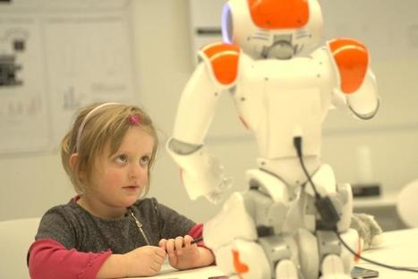 Children and robots work and write together | Tourism Storytelling, Social Media and Mobile | Scoop.it