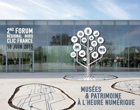 Jeudi 18 juin 2015: 2ème Forum régional Nord « Musées et patrimoine à l'heure numérique » au Louvre Lens: déjà 100 inscrits, 20 dernières places ! | Clic France | Scoop.it