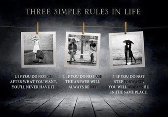 Three Simple Rules in Life   Funny Pic And Wallpapers   Scoop.it