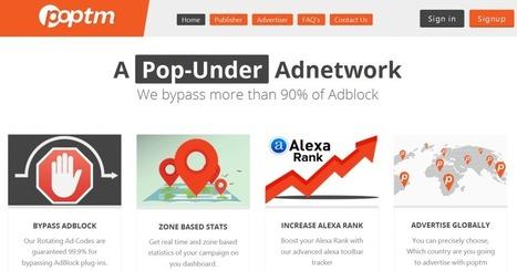 Poptm review : pop-under advertising network | wordpress | Scoop.it