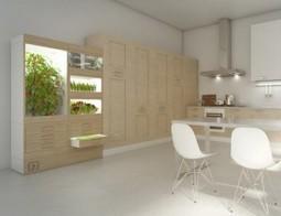 Une ferme hydroponique dans la cuisine - Cuisine   electriclove.info   Information Technologies for Agriculture   Scoop.it