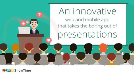 Zoho ShowTime: An Innovative Software That Takes Boring Out of Your Presentations – EdTechReview™ (ETR) | RandomFactoids | Scoop.it