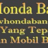 New Honda Bandung Authorized Dealer Resmi Mobil Baru