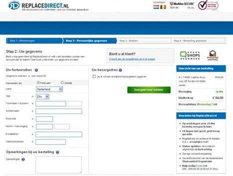 4 Areas To A/B Test For E-Commerce Websites | Websites - ecommerce | Scoop.it