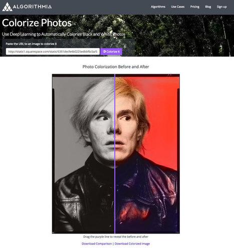 Algoritmia Colorize Photos – un algoritmo para dar color a fotos de forma instantánea | El Mundo del Diseño Gráfico | Scoop.it