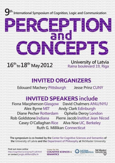 "Experimental Philosophy: Conference ""Perception and Concepts ... 
