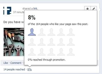 Nouvel indicateur : le nombre de Fans exposés à votre Publication   Animer une communauté Facebook   Scoop.it