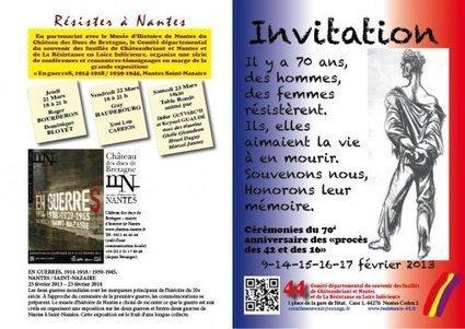 70e anniversaire des « procès des 42 et des 16 » - [Comité du Souvenir des Fusillés] | Histoire 2 guerres | Scoop.it