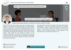Simulateur d'entretien de recrutement - Apec.fr - Jeunes diplômés | Cabinet de curiosités numériques | Scoop.it
