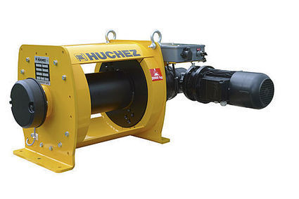 INDUSTRIA-Serie : electric winches from 1 to 10 t - HUCHEZ - News ... | Seguridad industrial | Scoop.it