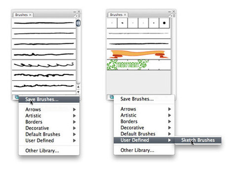 30 Sketchy-Style Brushes For Illustrator | Risorse per Web Designers | Scoop.it