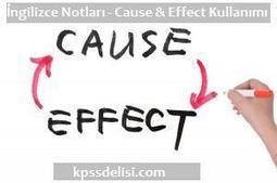 İngilizce notları : Cause and Effect | KPSS | Scoop.it
