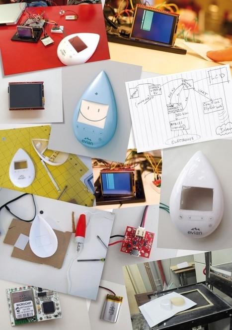 Un objet connecté evian pour commander des packs d'eau depuis son frigo! | Objet connecté | Scoop.it