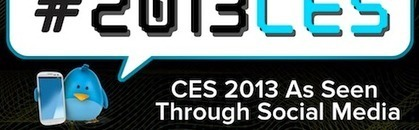 INFOGRAPHIC: CES 2013 As Seen Through Social Media | AllAboutSocialMedia | Scoop.it