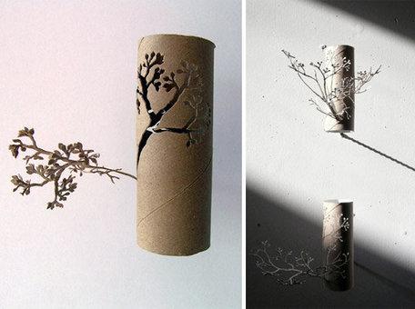 Toilet Paper Roll by Yuken Teruya   recycling   Scoop.it