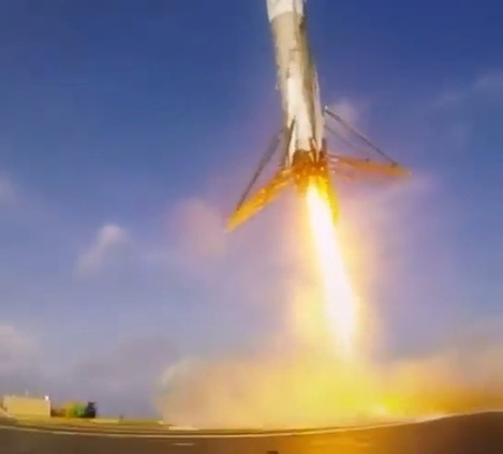 Leaked barge video shows SpaceX rocket landing up close | Nerd Vittles Daily Dump | Scoop.it