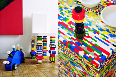 20 Cool Furniture Designs Made Out of Legos   Daily source for ...   Heron   Scoop.it