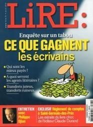 Combien gagnent les écrivains - enquête sur un tabou  du magazine « Lire »   Edition en ligne & Diffusion   Scoop.it