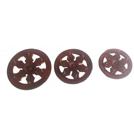 Wooden Key Holder In Wheel Shape | Ca135 | Centenarian Art Crafts Buy Online Free Shipping Cod Onlineshoppee Buy Online Wooden Products | Onlineshoppee | Scoop.it