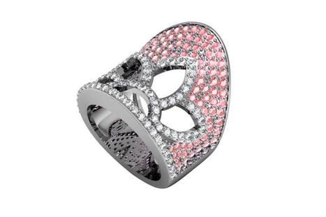 Buy Pink Sapphires & Diamond Ring | Diamond Solitaire Ring | Scoop.it