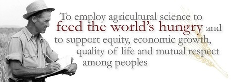 Norman Borlaug Institute for International Agriculture | Teaching, Research, Extension and Service | Agriculture | Scoop.it