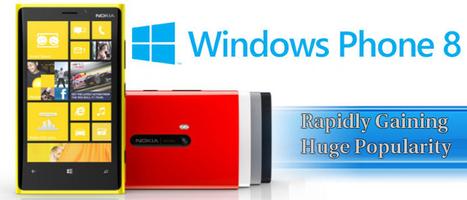 Windows Phone 8 – Rapidly Gaining Huge Popularity   Windows Mobile App Mart - Windows Mobile Phone News   Scoop.it