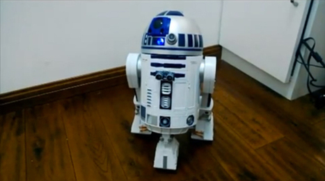 Hacker Builds the Voice-Controlled Raspberry Pi R2-D2 You're Looking For | Wired Design | Wired.com | Raspberry Pi | Scoop.it