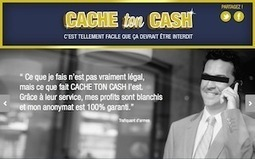 Cache-ton-Cash, le site qui propose de blanchir l'argent sale - 01net | Lutte contre le crime organisé | Scoop.it