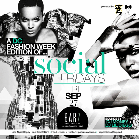 J.Cole & Big KRIT Saturday @ Bar7! Fashion Week Kickoffs @ Huxley! Football & Black Alley Thursday! Rock the Bells Finale @ Barcode! | CLOVER ENTERPRISES ''THE ENTERTAINMENT OF CHOICE'' | Scoop.it