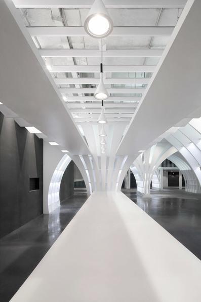 Penda places dandelion-inspired columns to a Beijing shop   Architecture, design & algorithms   Scoop.it