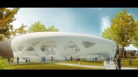Université de Haute-Alsace: bientôt la bibliothèque du futur (France 3 Alsace) | architecture & design en bibliotheques | Scoop.it