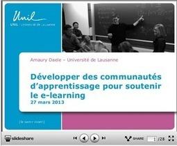 Communautés d'apprentissage, e-learning et MOOCs | Thot Cursus | E-Learning | Scoop.it