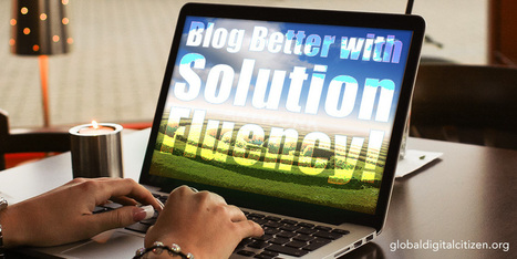 Solution Fluency-Style Blog Writing: The Basics | Tech Alert! | Scoop.it